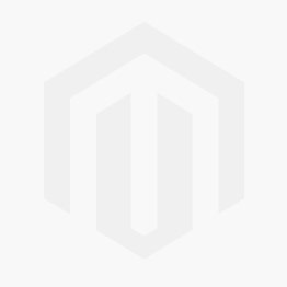 Antique Delft tile in blue with a peacock stretching its tail feathers, 18th century