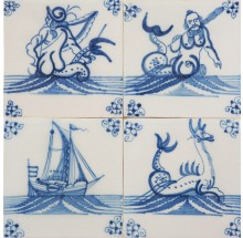 SET - Sea life, 18th century
