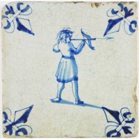 Archer with crossbow, c. 1640