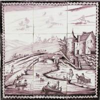Dutch landscape, c. 1800