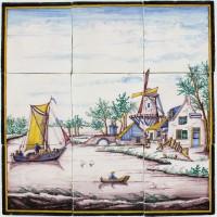 Dutch landscape, c. 1860