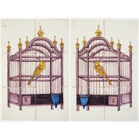 Bird cages, 19th century